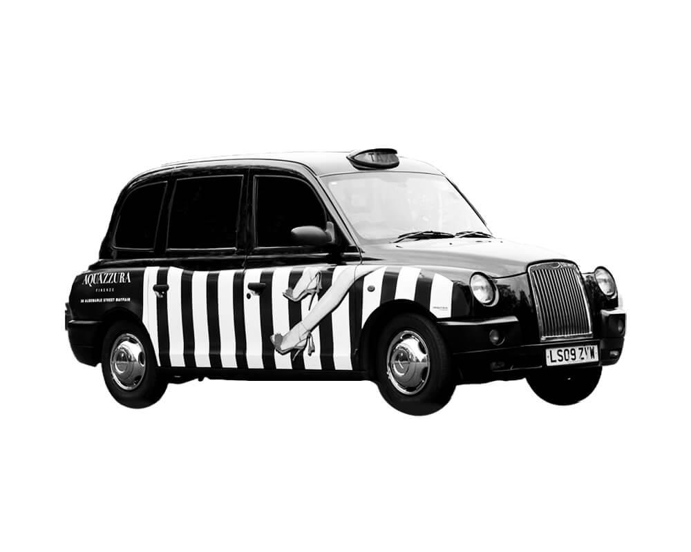Aquazzura Taxi Campaign